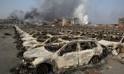 China explosions
